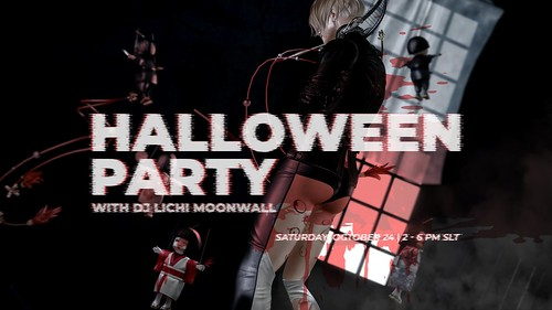 Hikaru & Marcus Halloween Party 24th OcT at 2pm SLT | by Hikaru_Enimo