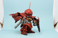 "MSN-06S ""SINANJU"" Super deformed"