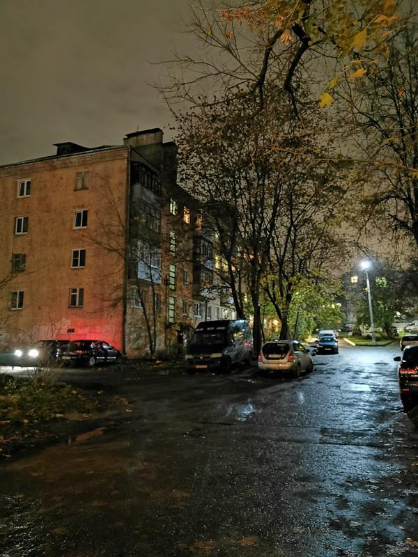 """eines """"Khruschevka"""" genanntes Haus"""