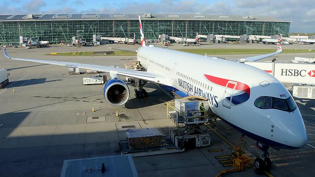G-XWBG   Airbus A350-1041   British Airways