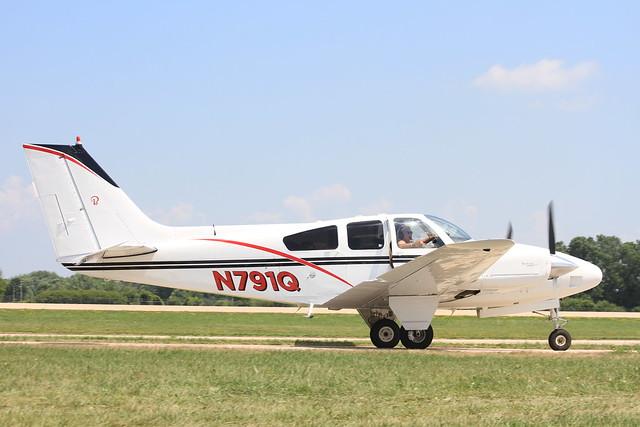 N791Q : Beech Baron D55