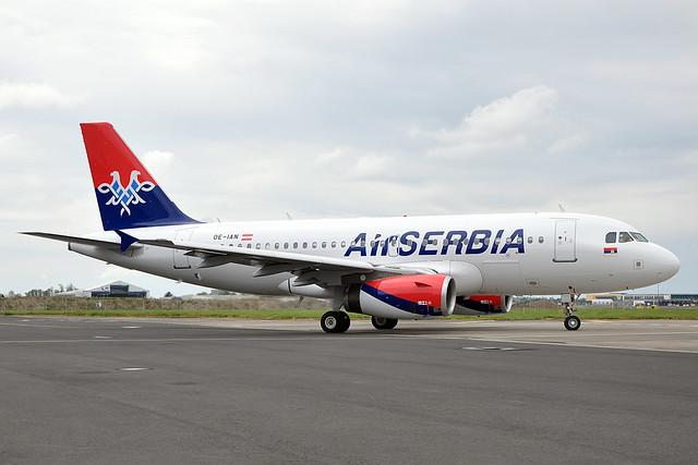 OE-IAN / YU-APK  A319-132  Air Serbia