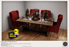 {YD}Christmas Dining Room