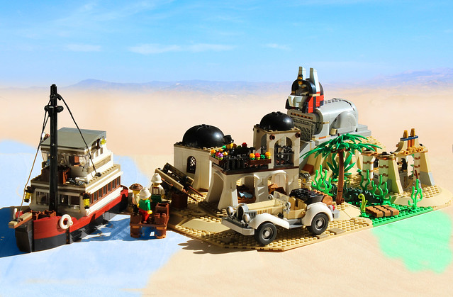 NEW LEGO IDEAS PROJECT - Adventurers of the Secret Sphinx