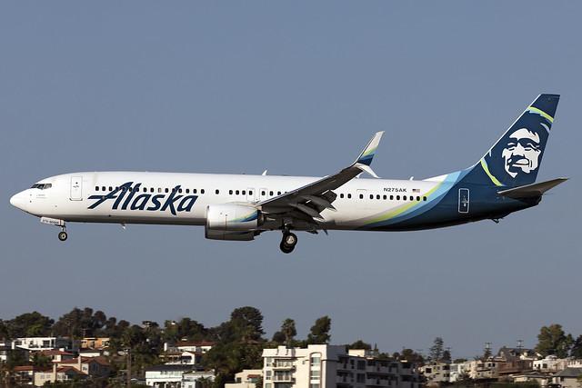 N275AK - Boeing 737-990ER(WL) - Alaska - KSAN - 15 Oct 2020