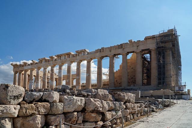2020-10-10 133 Griechenland; Athen, Akropolis, Parthenon