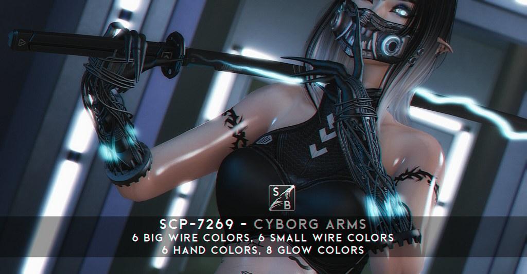 SCP-7269 Cyborg Arms for Maitreya Lara @ Necrotize