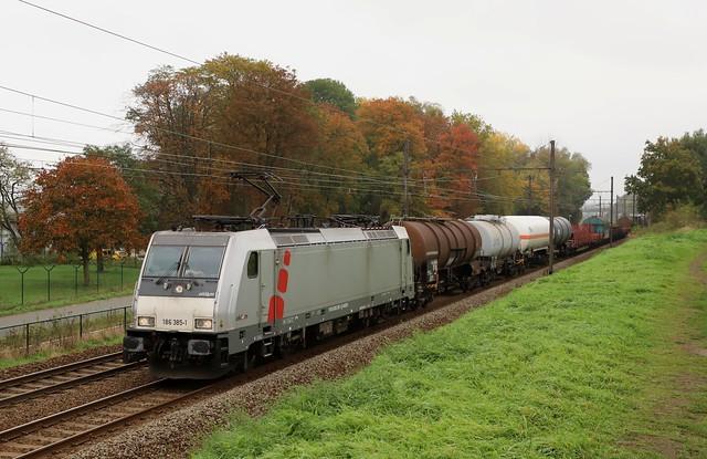 LINEAS 186 385-1 - Mortsel - 23/010/2020.