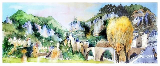 Sainte Enimie - Occitanie - France