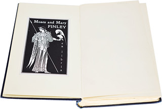 Moses and Mary Finley bookplate