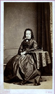 Liverpool Mourner, English Albumen Carte de Visite, Circa 1862 | by lisby1