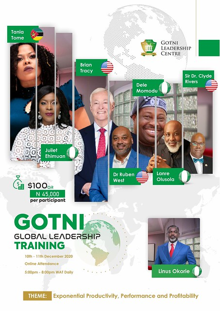 Global  Leeadership conference with Brian Tracy