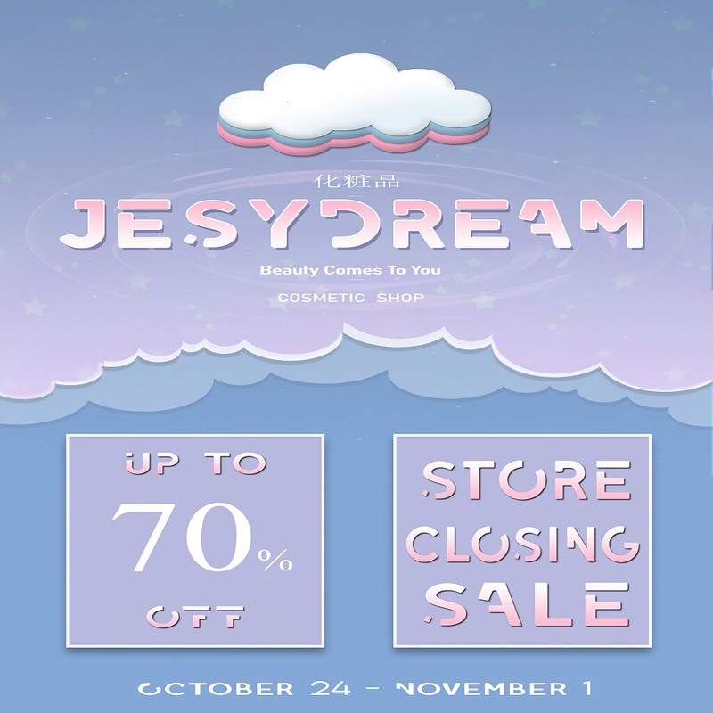 jesydream closing sale