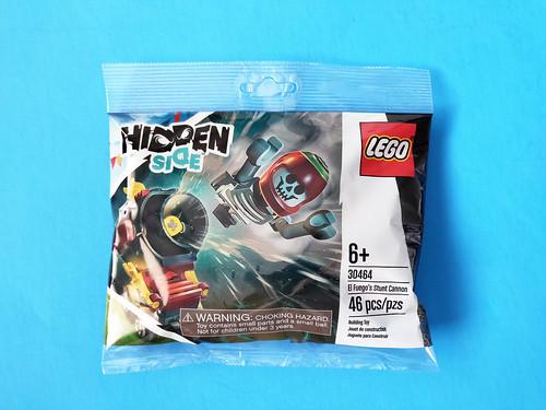 LEGO Hidden Side El Fuego's Stunt Cannon (30464)
