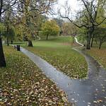 Winckley Square in the rain