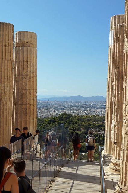 2020-10-10 134 Griechenland; Athen, Akropolis, Propyläen