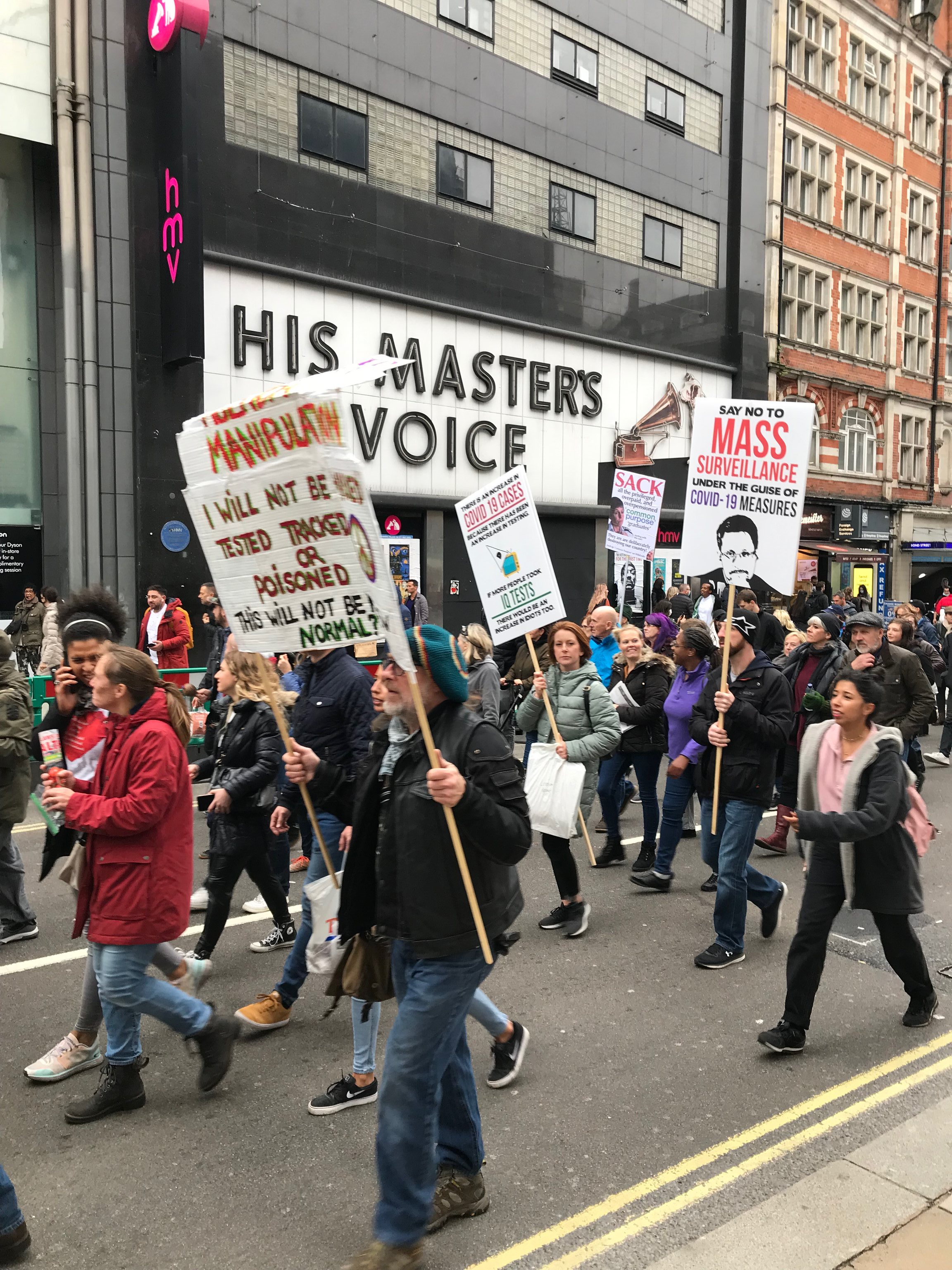 London Protest