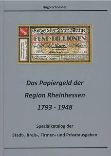paper money of the Rheinhessen region book cover