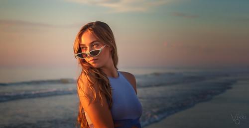 summer sunglasses shades beach model morninglight sunrise