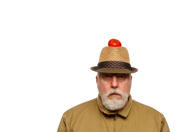 The Man who wore a Tomato on his Hat