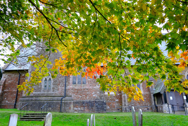 St Mary's.. Ide Hill in Autumn