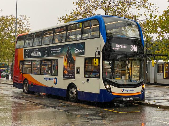 Stagecoach Manchester Alexander Dennis Enviro 400MMC 11271 SN69 ZGG