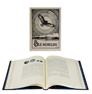 Ole Schelde's bookplate
