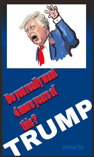 TRUMP FOUR MORE YEARS