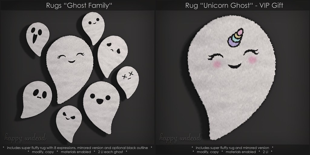 Ghost Family & VIP Gift @ Happy Undead