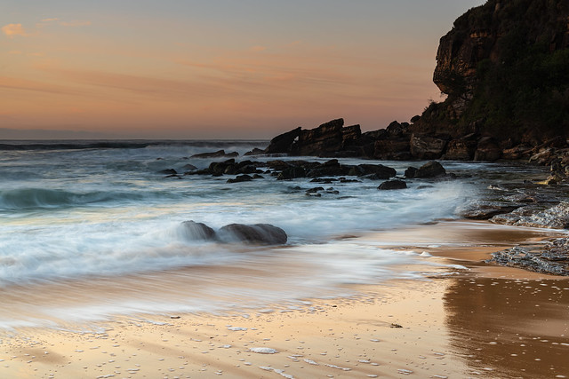 Winter Sunrise at the Seaside