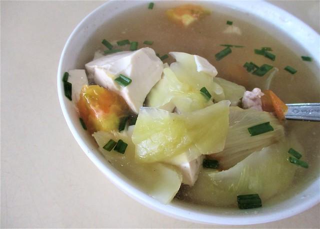 Y2K salted vegetable tofu soup