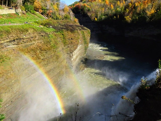Letchworth State Park, NY The Middle Falls