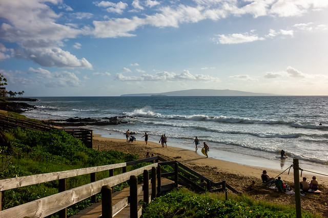 Late Afternoon at Kam III Beach, Kihei