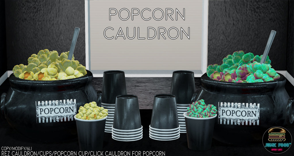 Junk Food – Popcorn Cauldron Ad