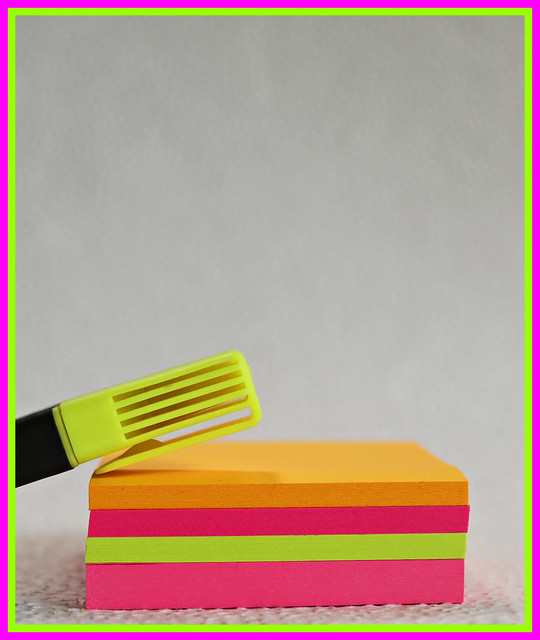 2020 Flickr Friday: Neon Stationery