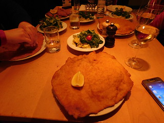 Schnitzel at Figlmuller | by Food and Travel blog