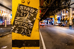 The Batman Filming in Chicago 2020   Stab Out The Eye, Destroy Gothcorp! Flyer