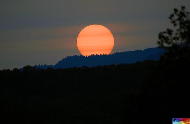 Coucher de soleil du 24.10.2020