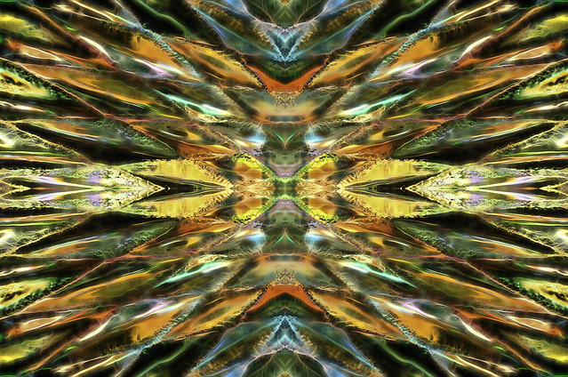 Light Breaks Mirror Image