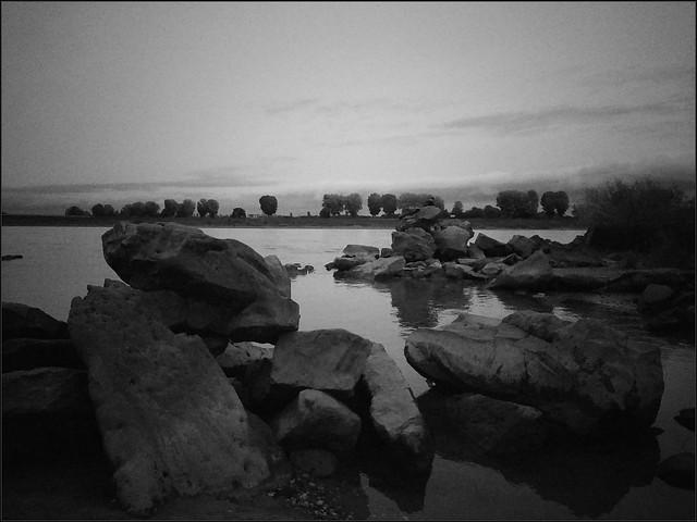 Impressionen eines düsteren Oktobernachmittags am Rhein III