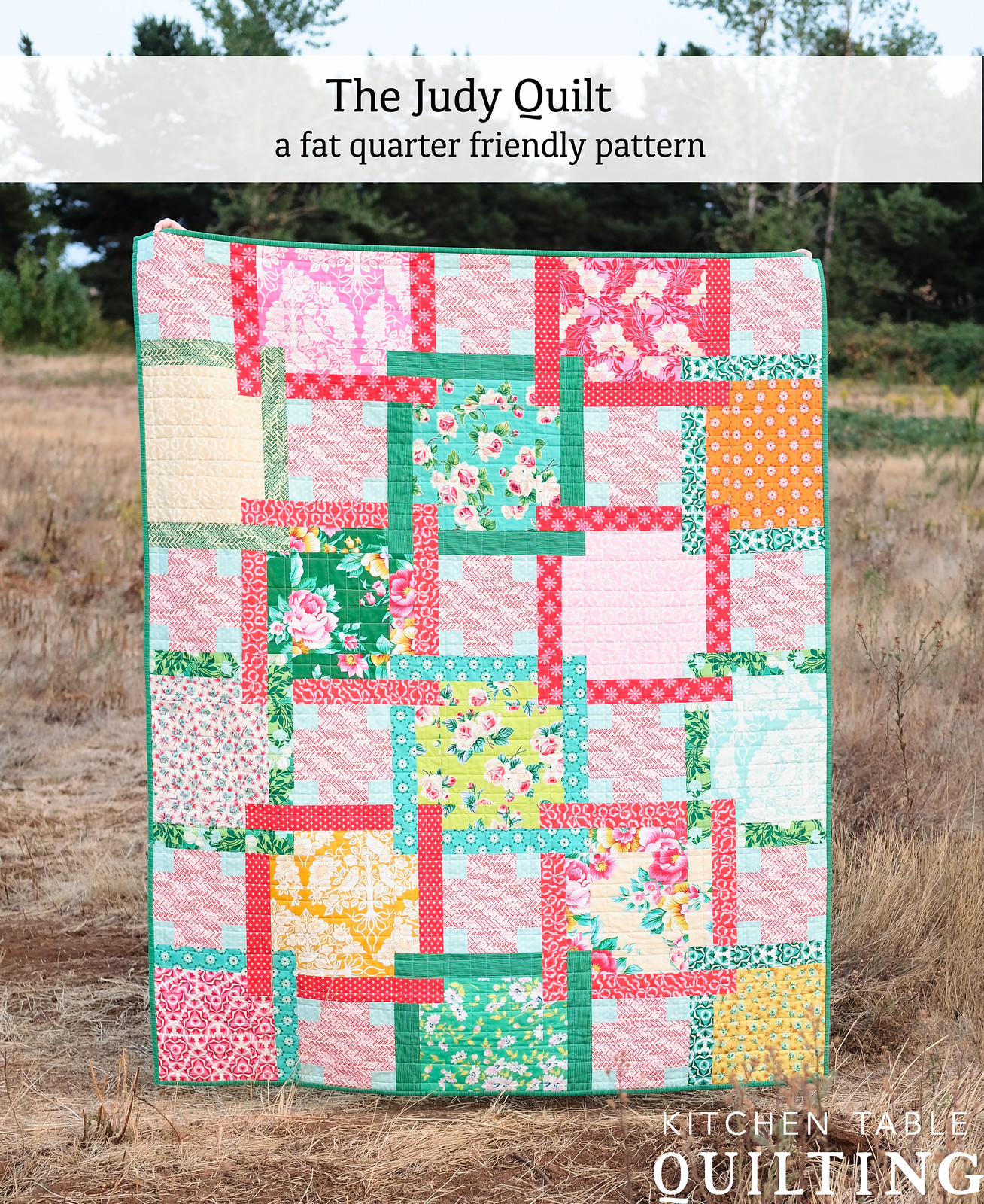 The Judy Quilt Pattern - Kitchen Table Quilting