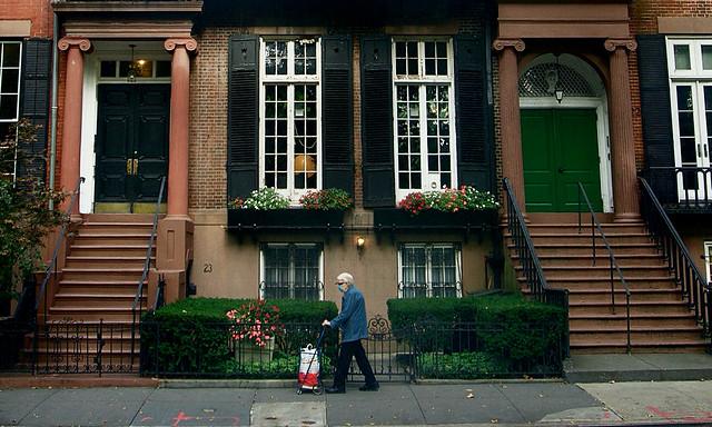 Life goes on - West Village, New York City