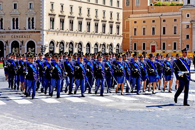 PARADE, ROME, ITALY