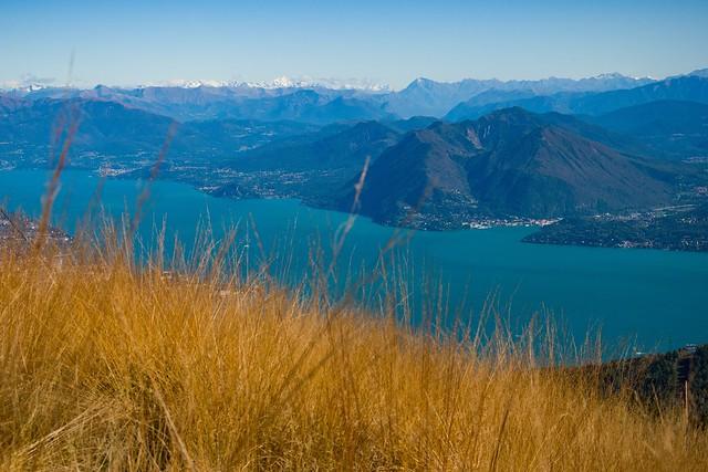 Vista panoramica del Lago Maggiore
