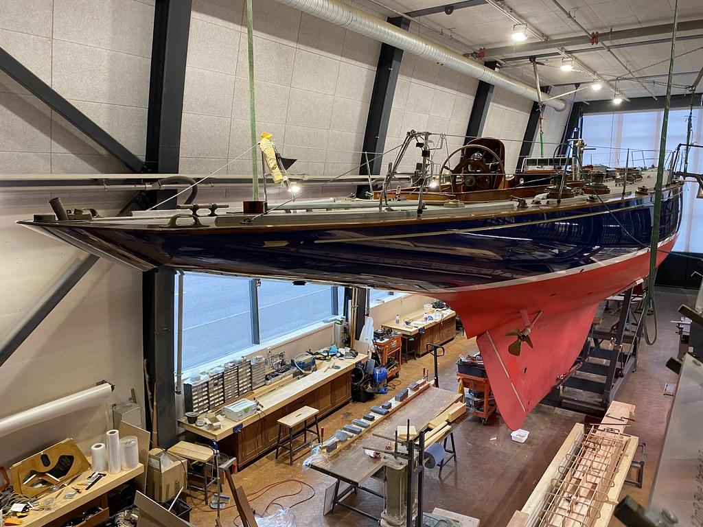 Suomen Puuvenekeskus, Blue Marlin