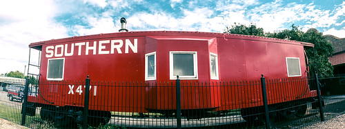 Bay Window Caboose