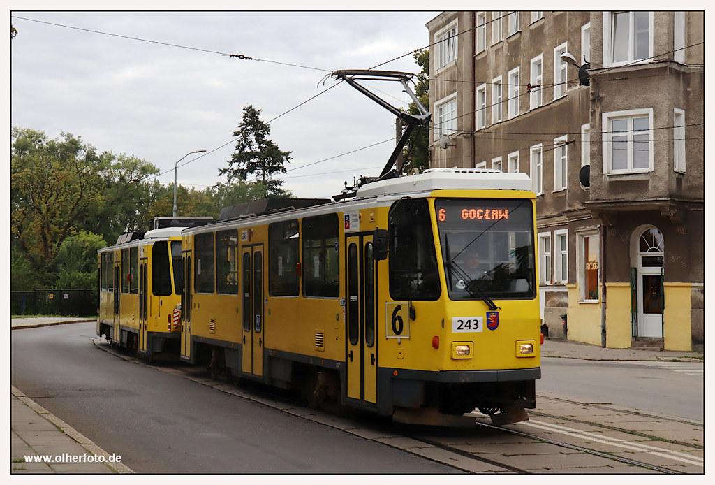 Tram Szczecin - 2020-22
