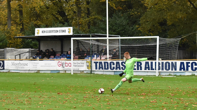 Tadcaster Albion 1 Rams 2 - Saturday 24th October - Northern Premier League