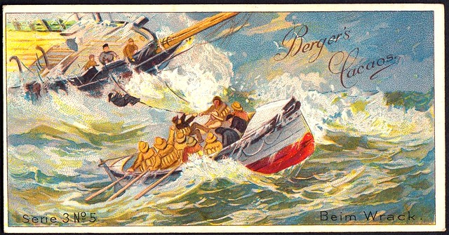 German Tradecard - At the Wreck
