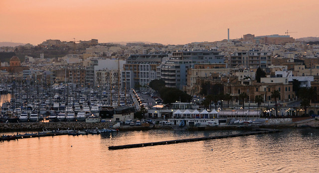 Sliema sunset (Malta)